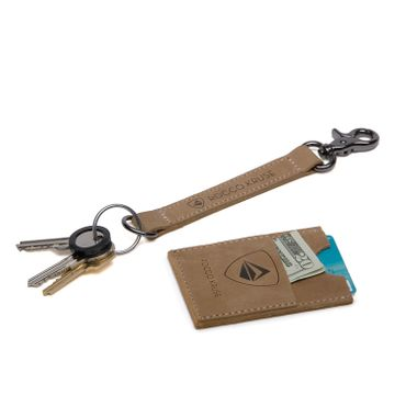 EVENaBAG | Leather Key Fob & Card Holder Set