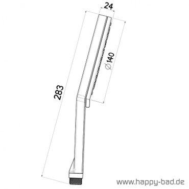 Nikles Handbrause Pure Duo 140mm 2-strahlig – Bild 2