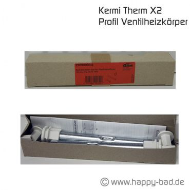 Kermi Therm X2 Pofil V-Kompaktheizkörper Typ12 600x400mm – Bild 7