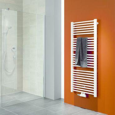Kermi Basic 50 Badheizkörper mit Mittelanschluß Höhe 805 x Breite 599mm, E001M0800602XXK – Bild 2