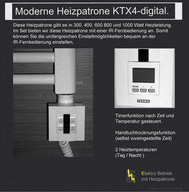 KTX4-digital-Set 1000 Watt inkl. IR-Fernbedienung und Heizstab – Bild 3