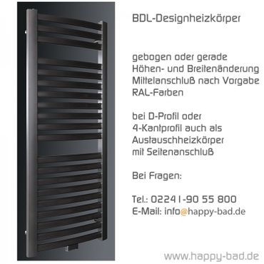 BDL-Designheizkörper 1220 x 750mm – Bild 2