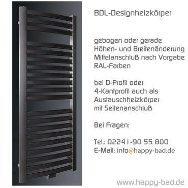BDL-Designheizkörper 1220 x 600mm – Bild 2