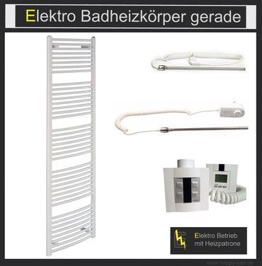 Elektrischer Badheizkörper gerade EO 950 x 500mm – Bild 1