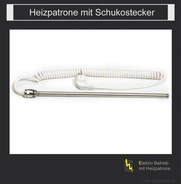 Elektrischer Badheizkörper gebogen ES 1650 x 600mm – Bild 4