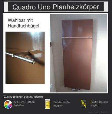 Quadro Uno Planheizkörper 970mm x 750mm – Bild 2