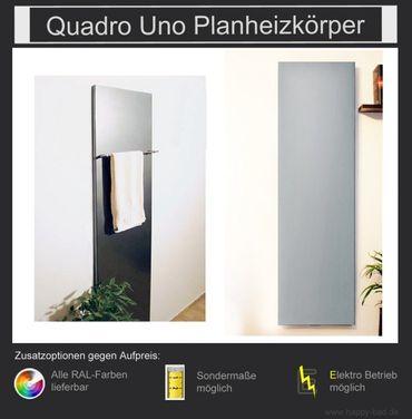 Quadro Uno Planheizkörper 1810mm x 600mm – Bild 1