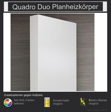 Quadro Duo Planheizkörper 1210mm x 600mm – Bild 2