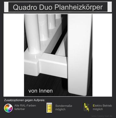 Quadro Duo Planheizkörper 1210mm x 750mm – Bild 3