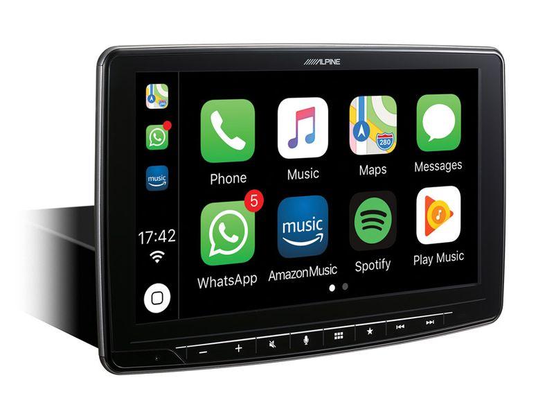ALPINE ILX-F903D Digital Media Station 1-DIN Android Auto Bluetooth Apple CarPlay