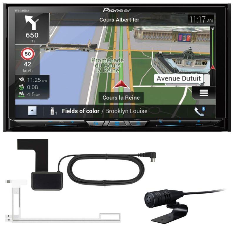 PIONEER AVIC-Z810DAB 2-DIN Navigation DAB+ Apple CarPlay inkl. DAB+ Antenne