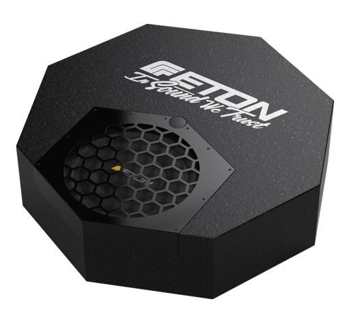 ETON RES 10 A Aktiv Subwoofer für Ersatzradmulde 25 cm geschlossenes Gehäuse