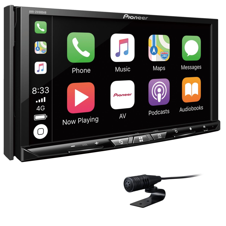 pioneer avh z9100dab bluetooth digitalradio 2 din wireless. Black Bedroom Furniture Sets. Home Design Ideas