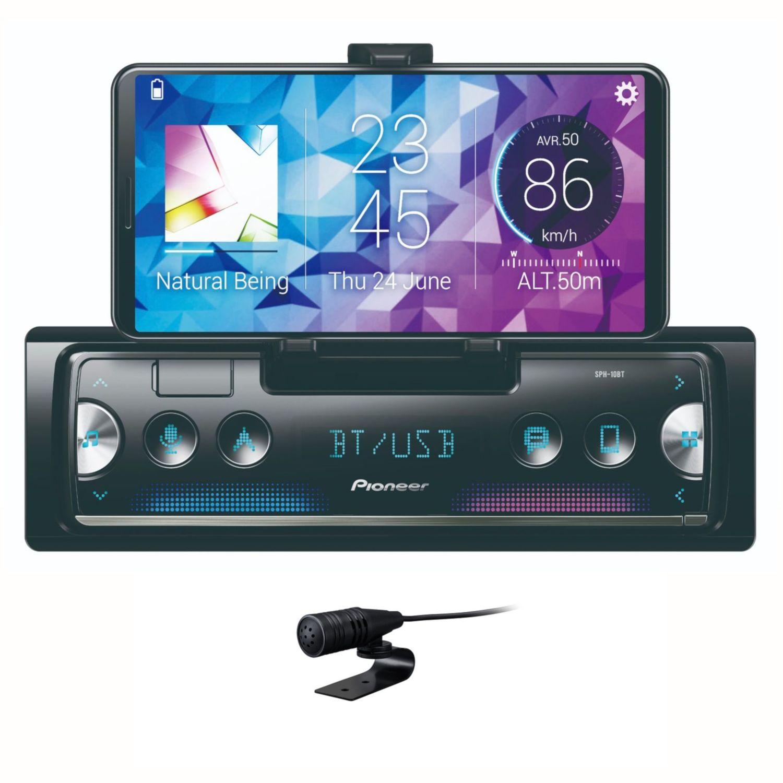 Pioneer Sph 10bt Smartphone Receiver Usb Mp3 Autoradio Mit Bluetooth