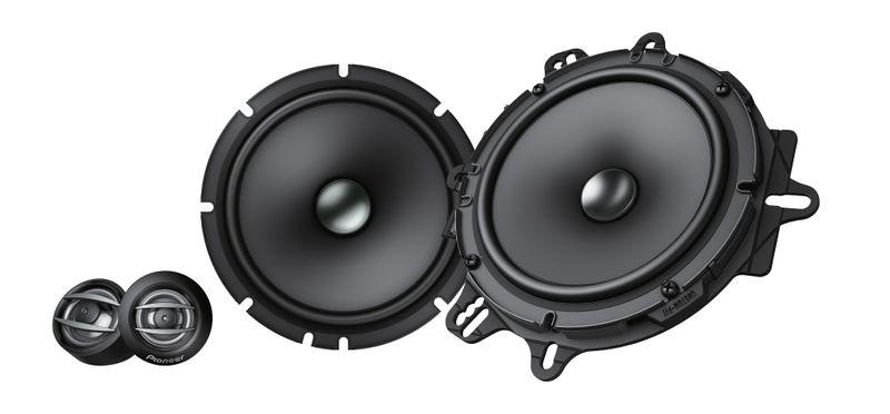 Pioneer TS-A1600C 16,5 cm Komponenten System Lautsprecher 2 Wege 165 mm