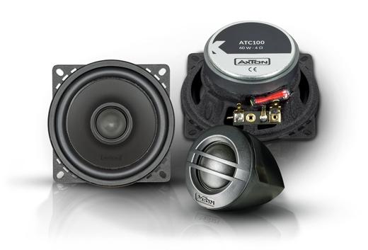 AXTON ATC100 2 Wege Komponenten Lautsprecher System 10 cm