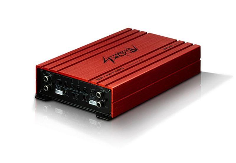 SPECTRON SP-N4400 4-Kanal Digital Verstärker Endstufe 4 x 100 Watt an 4 Ohm