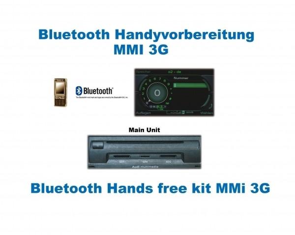 "AMPIRE Handyvorbereitung Bluetooth Audi A6 4F/A8 4E/Q7 4L mit MMI 3G ""Nur Bluetooth"""