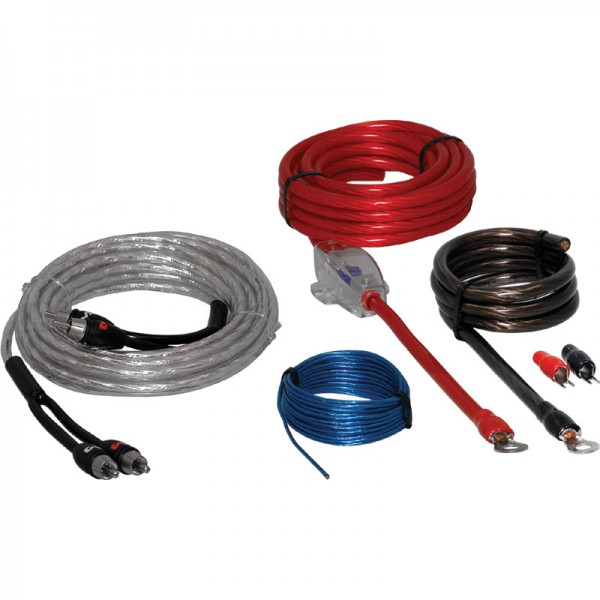 AMPIRE EPK10 Verstärker Anschluss Kabel Set 10mm² 5 Meter (Economy)