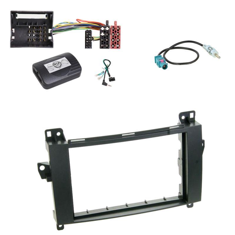 Autoradio Einbauset für Mercedes Vito Viano W639 W169 W245 Radioblende Adapter