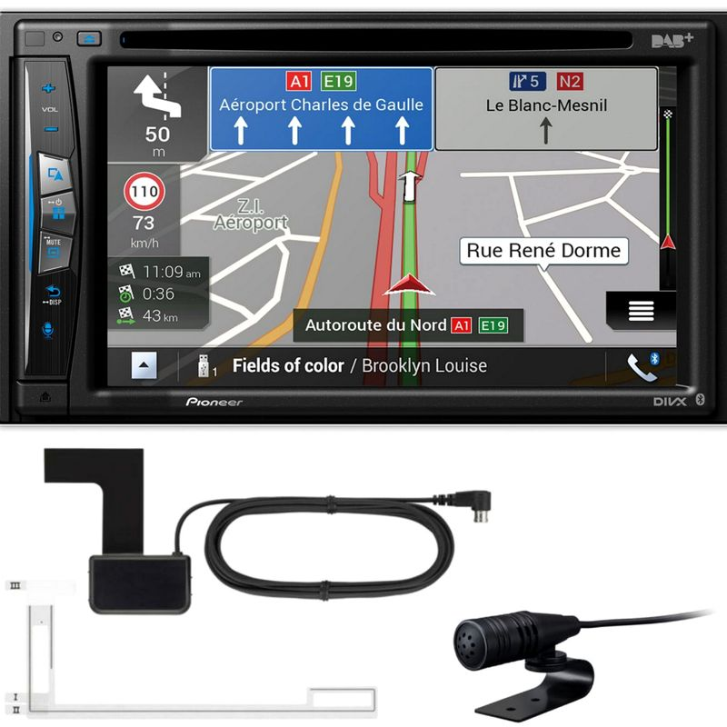 PIONEER AVIC-Z720DAB Navigation Bluetooth USB Digitalradio inkl. DAB+ Antenne