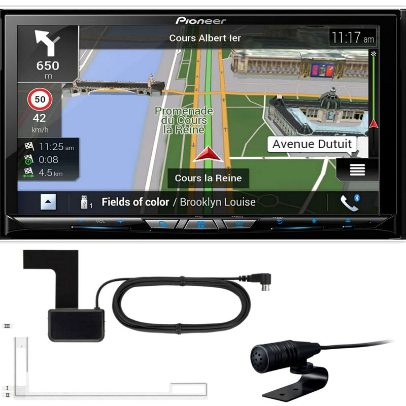 PIONEER AVIC-Z820DAB 2-DIN Navigation DAB+ CarPlay Android Auto inkl Antenne