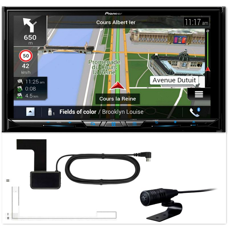 PIONEER AVIC-Z920DAB Navigation DAB+ Bluetooth CarPlay Android Auto inkl Antenne