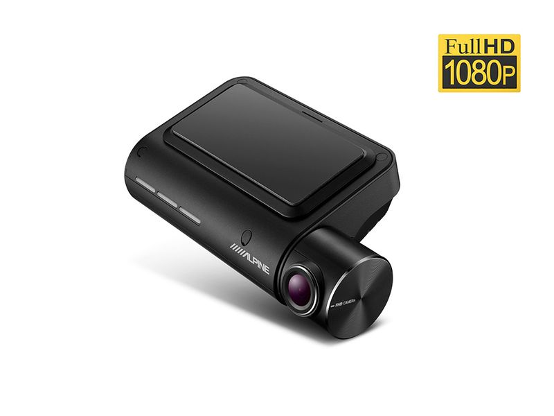 Alpine DVR-F800PRO Full HD Dashcam Fahrerassistenzfunktionen Parkmodus 12/24 V