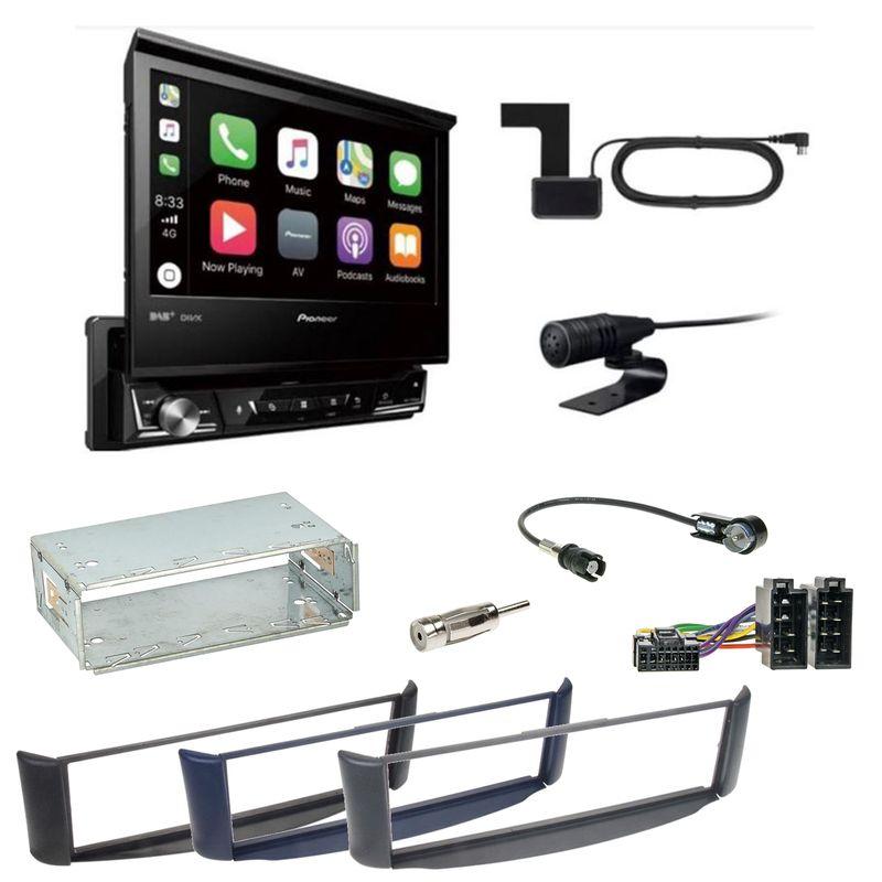 Pioneer AVH-Z7200DAB Digitalradio Bluetooth CD USB Einbauset Smart ForTwo 450
