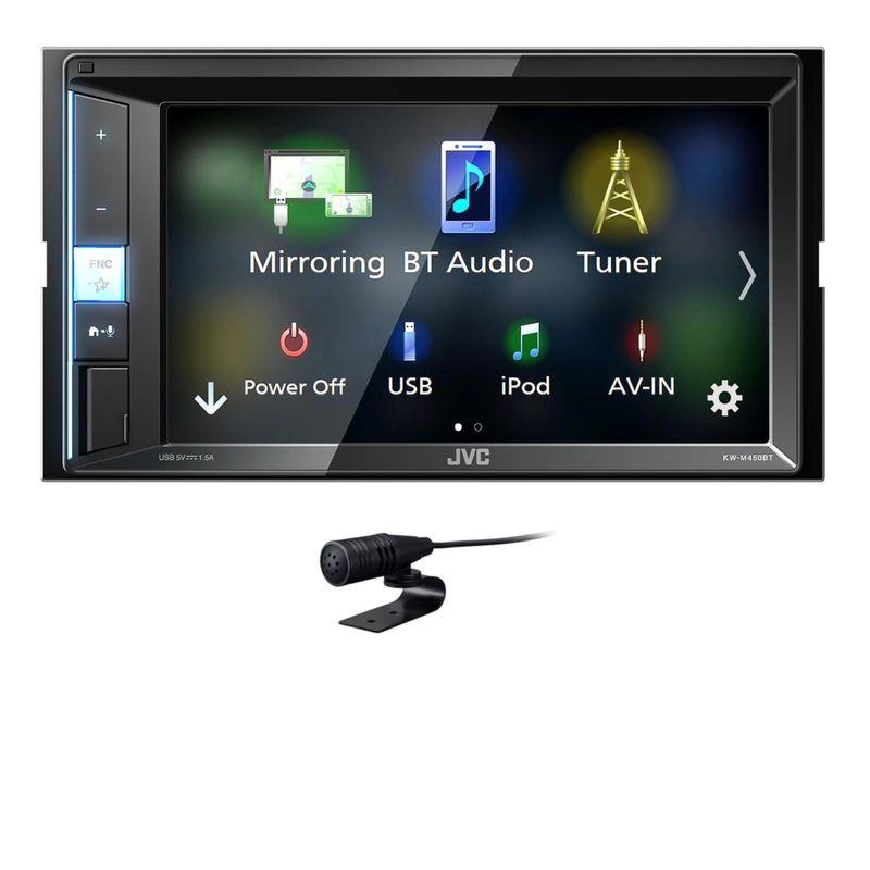 JVC KW-M450BT 2-DIN Moniceiver Bluetooth USB MP3 Autoradio