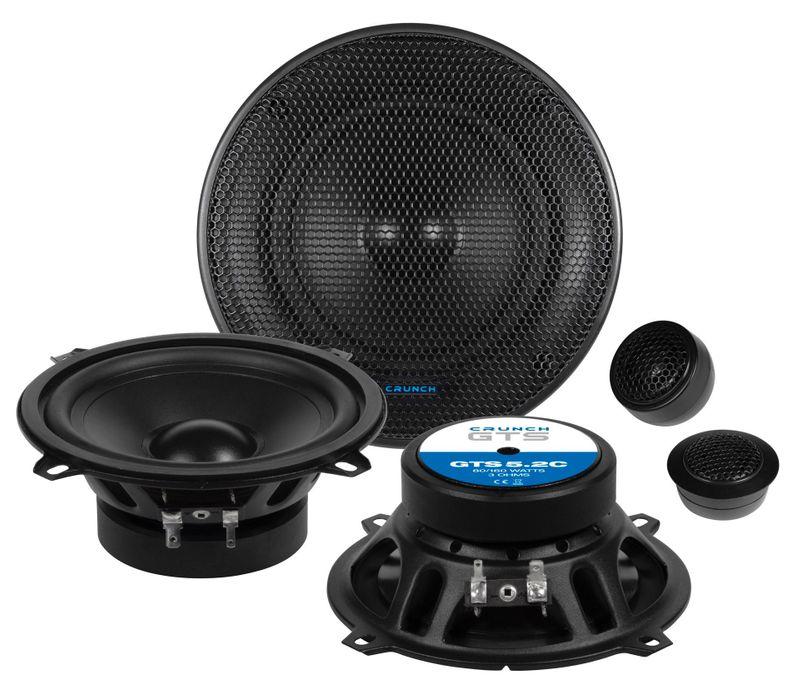Crunch GTS-5.2C 13 cm 2 Wege Komponenten Lautsprecher System