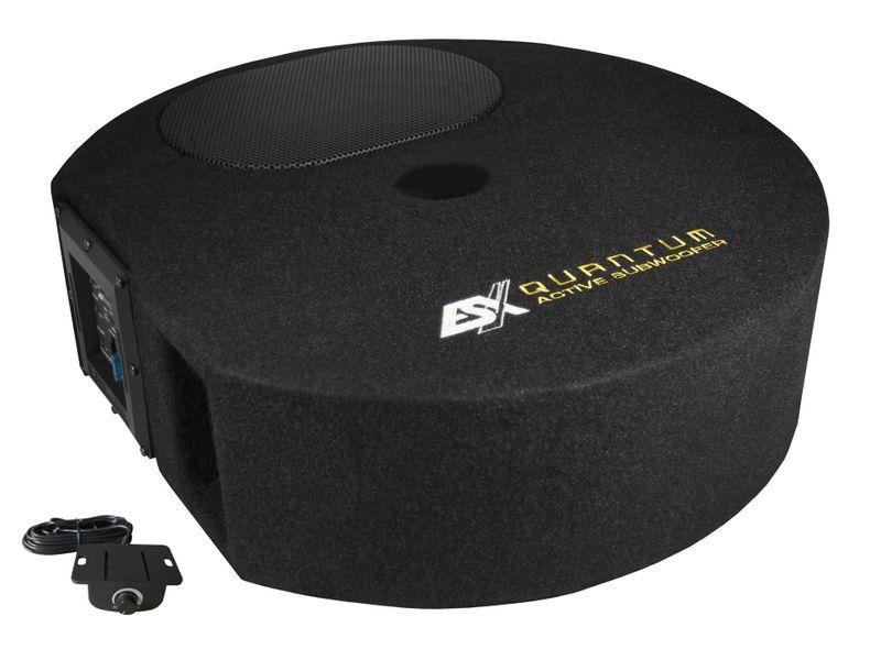 ESX QUANTUM Q300AV2 Reserverad Aktiv Subwoofer mit integriertem Verstärker