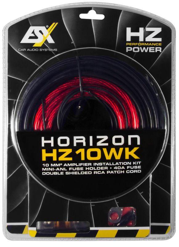 ESX HZ10WK 10 qmm Verstärker Anschluss Kabelset Anschlusskit