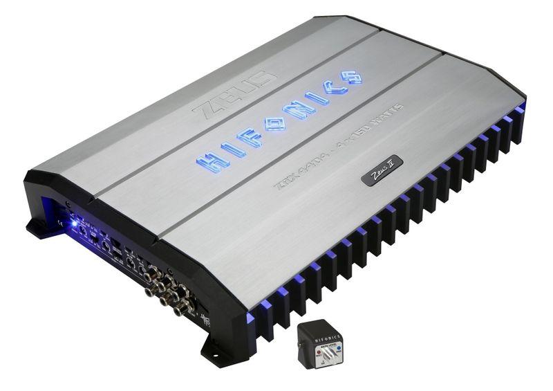HIFONICS ZEUS ZRX4404 4 Kanal Verstärker Endstufe