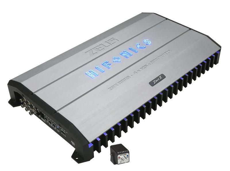 HIFONICS ZEUS ZRX8805 5 Kanal Verstärker Endstufe
