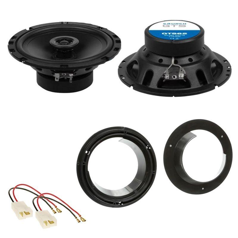 Crunch GTS62 Lautsprecher Einbauset für Suzuki Grand Vitara SX4 Swift