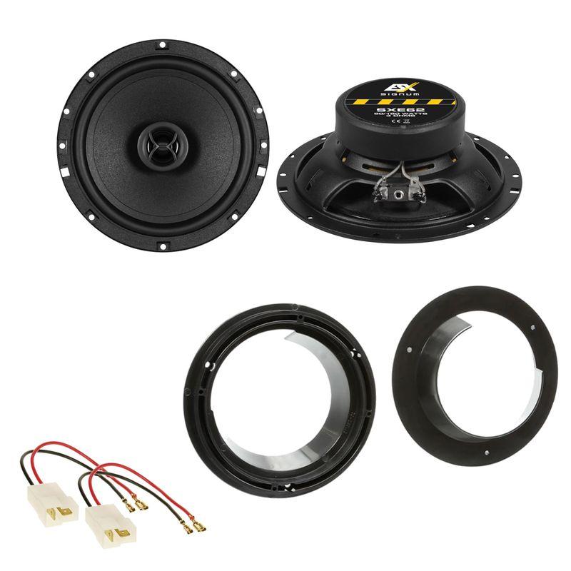 ESX SIGNUM SXE-62 Lautsprecher Einbauset für Suzuki Grand Vitara SX4 Swift