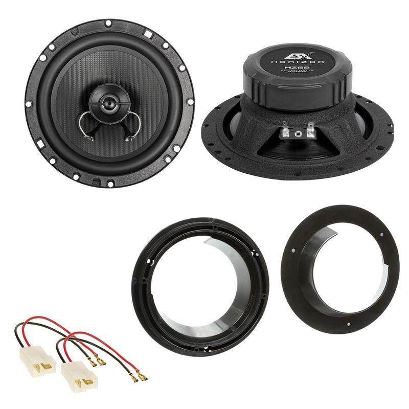 ESX HORIZON HZ-62 Lautsprecher Einbauset für Suzuki Grand Vitara SX4 Swift