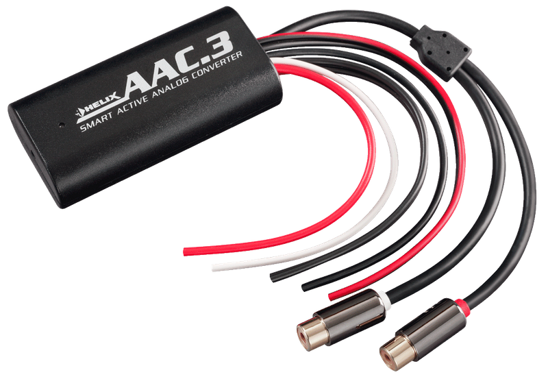 HELIX AAC.3 High-Low Converter 2-Kanal Adapter mit Remote Ausgang