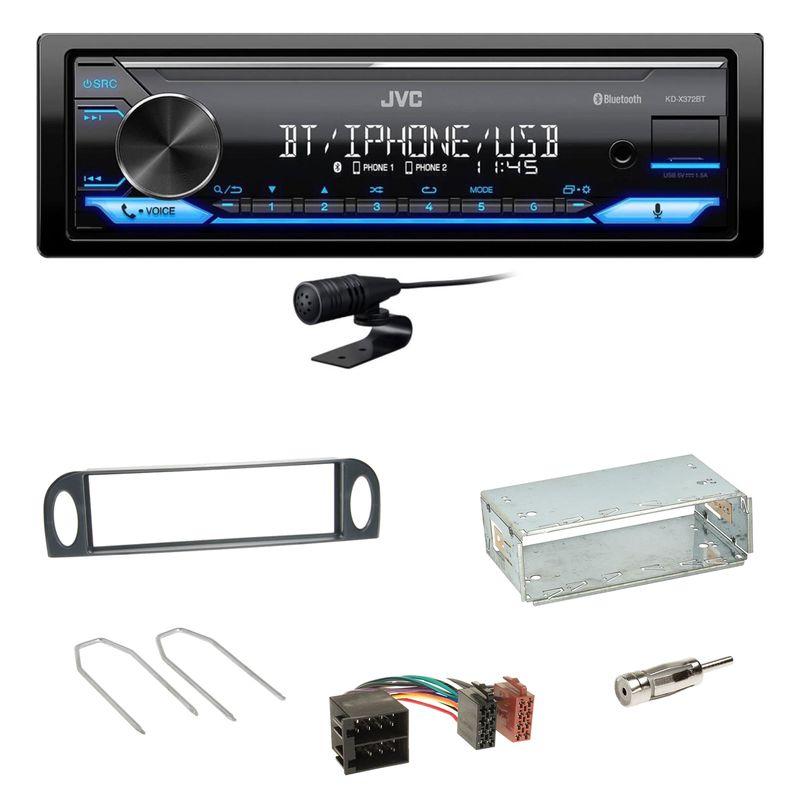 JVC KD-X372BT Bluetooth MP3 WMA Einbauset für Citroen C5 bis 07/2004