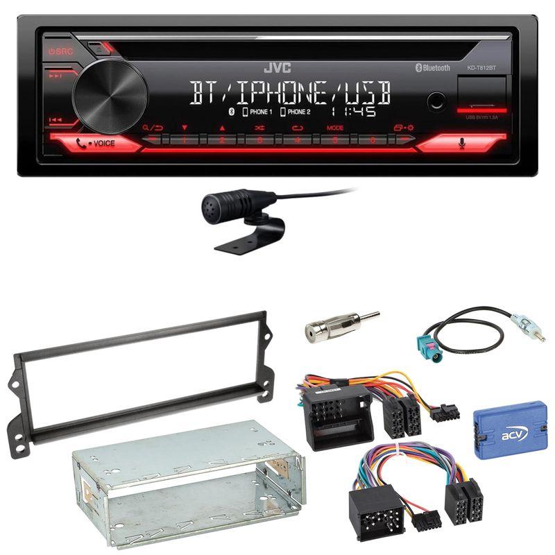 JVC KD-T812BT CD Bluetooth FLAC Bluetooth MP3 Einbauset für MINI R50 R52 R53