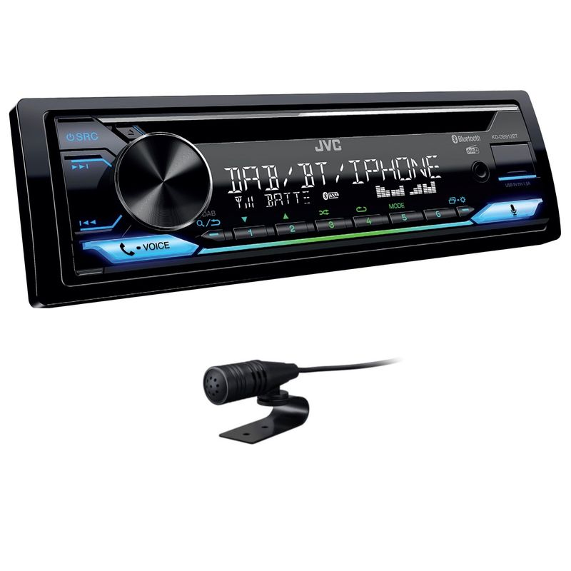 JVC KD-DB912BT USB CD MP3 FLAC Autoradio Bluetooth Digitalradio DAB+