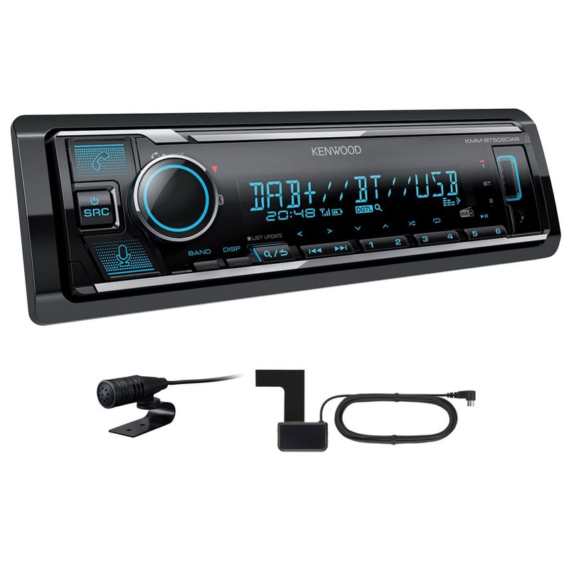 KENWOOD KMM-BT506DAB Digitalradio USB Bluetooth MP3 inkl DAB Antenne Autoradio