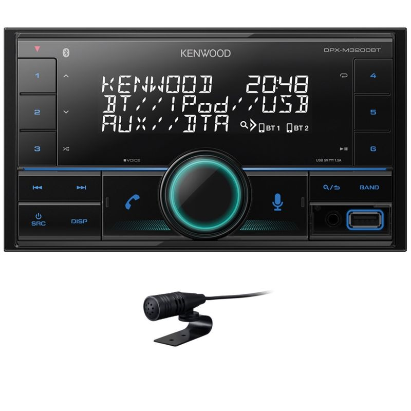 KENWOOD DPX-M3200BT 2 DIN Autoradio USB AUX Bluetooth