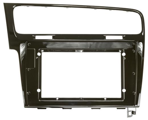ZENEC Z-F2021 Einbausatz Rahmen für Z-E1010 passend für Golf 7 Hochglanz schwarz