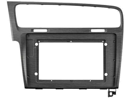 ZENEC Z-F2022 Einbausatz Rahmen für Z-E1010 passend für Golf 7 Anthrazit Grau