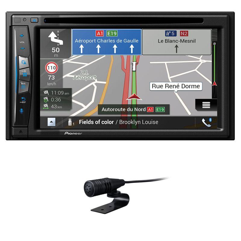 PIONEER AVIC-Z630BT 2-DIN Navigation wireless CarPlay Bluetooth USB DVD MP3