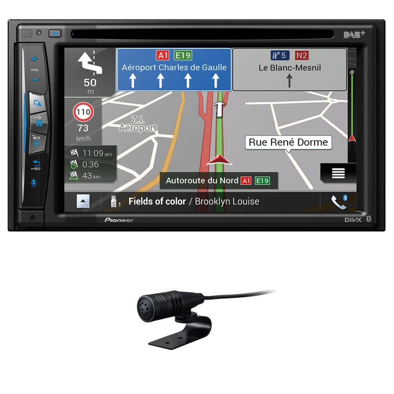 PIONEER AVIC-Z730DAB 2-DIN Navigation DAB+ Bluetooth USB Carplay Digitalradio