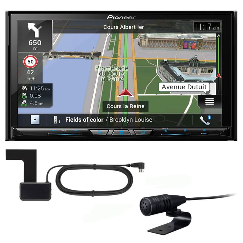 PIONEER AVIC-Z830DAB 2-DIN Navigation DAB+ CarPlay Android Auto inkl Antenne