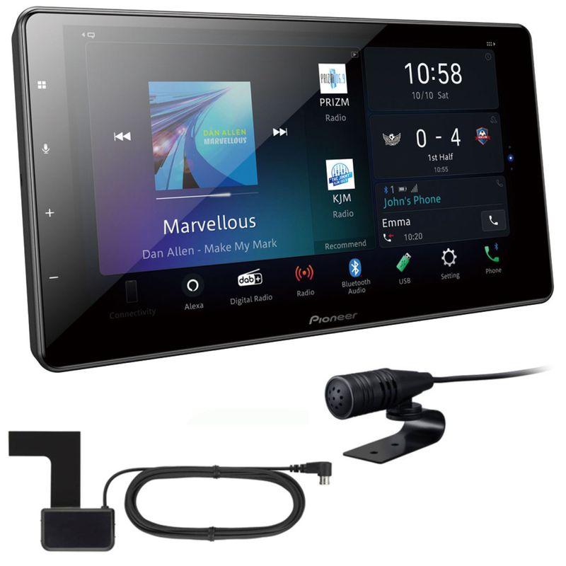 PIONEER SPH-EVO93DAB Mediacanter Digitalradio CarPlay Android Auto inkl Antenne